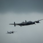 avro-lancaster-and-supermarine-spitfire